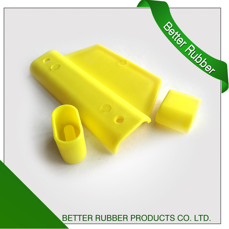 Free Sample Plastic Yellow PP Copolymer Plastic Handle with Profile Cup Made in China