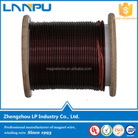 UL Certification Thermal Class 180 Aluminum Round Winding Wire Coil for Welding Machine
