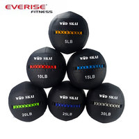 PU /PVC leather medicine ball / soft weight ball /