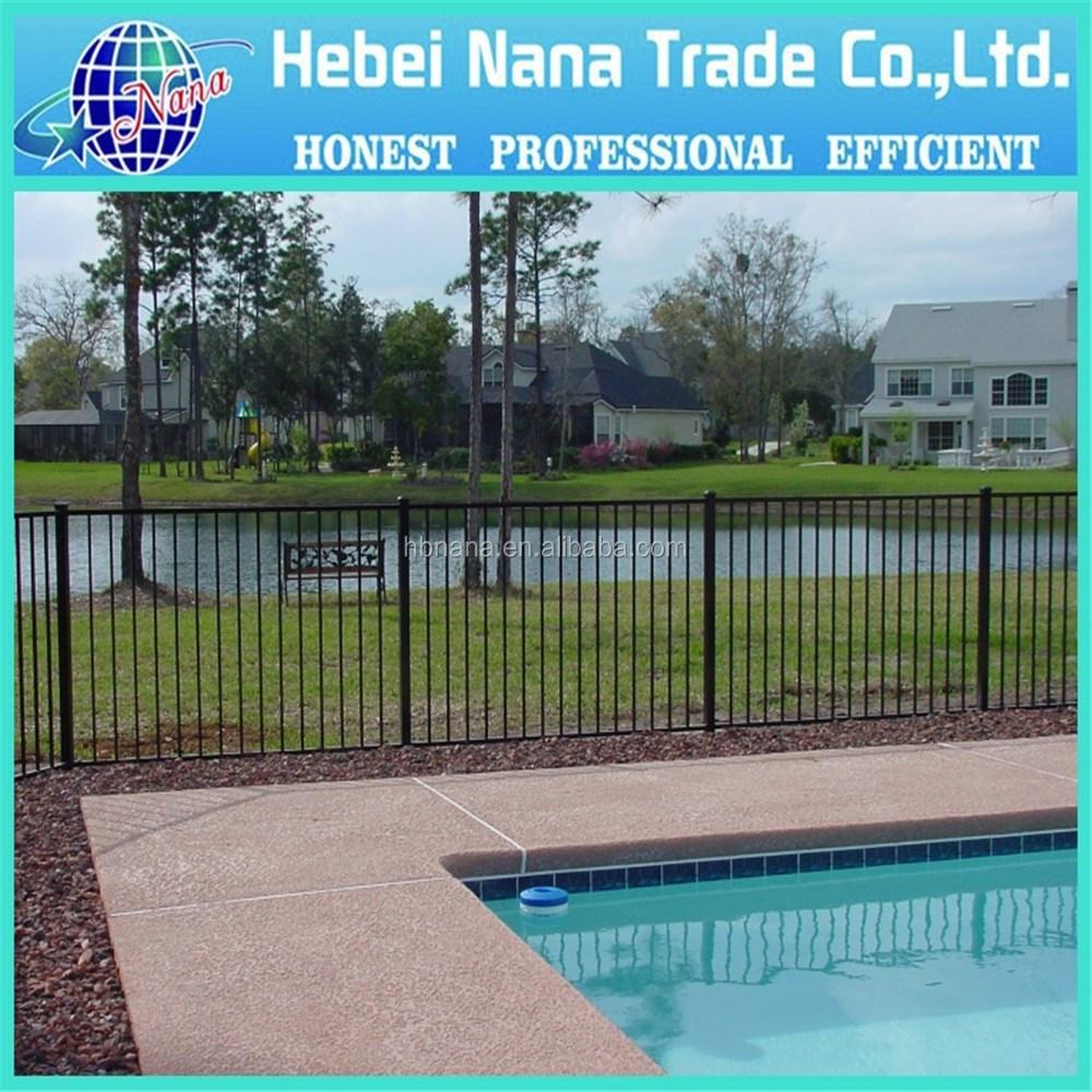Customized aluminium swimming pool fencing