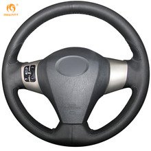 Black Leather Steering Wheel Cover for Great Wall C30 Haval M1 M2 M4 Hover