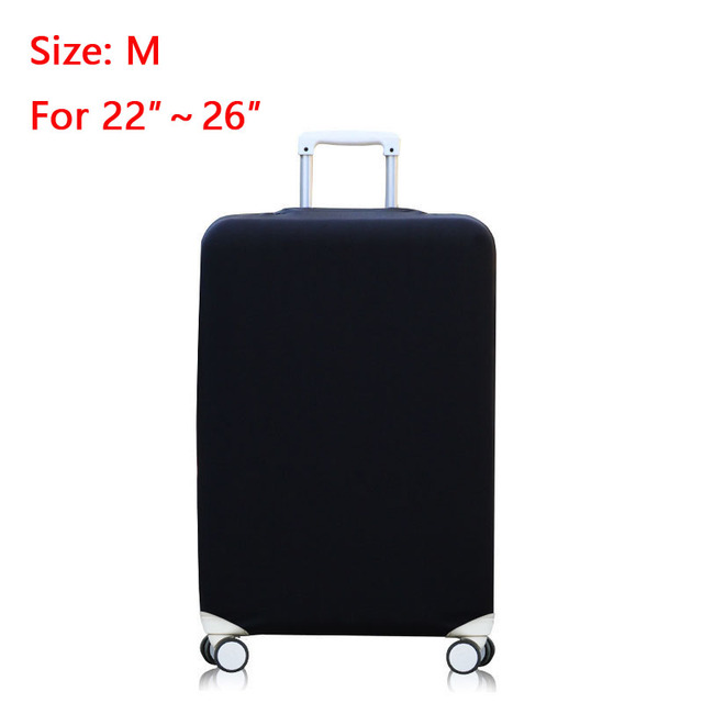 Elastic Luggage Cover Travel Protector Stretch Suitcase Protective Cover Apply to 18/20/22/24/26/28/30/32 inch Traveling Cases