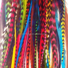 Sold out! factory price micro bead real feather hair extension 8-30cm