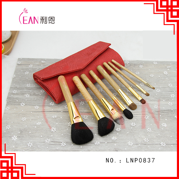 8pcs elegant high quality makeup brushes sets disposable cosmetic brush gift makeup brus set accept separate