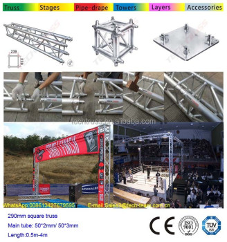Starting Line Truss Systems Finish Line Truss Systems for Marathons and other Racing Events