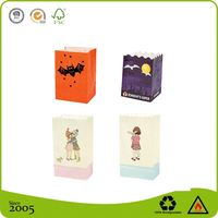 Fireproof Paper Luminaire Candle Bags with Led Light
