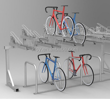Galvanized double cycle stands(OEM accepted)