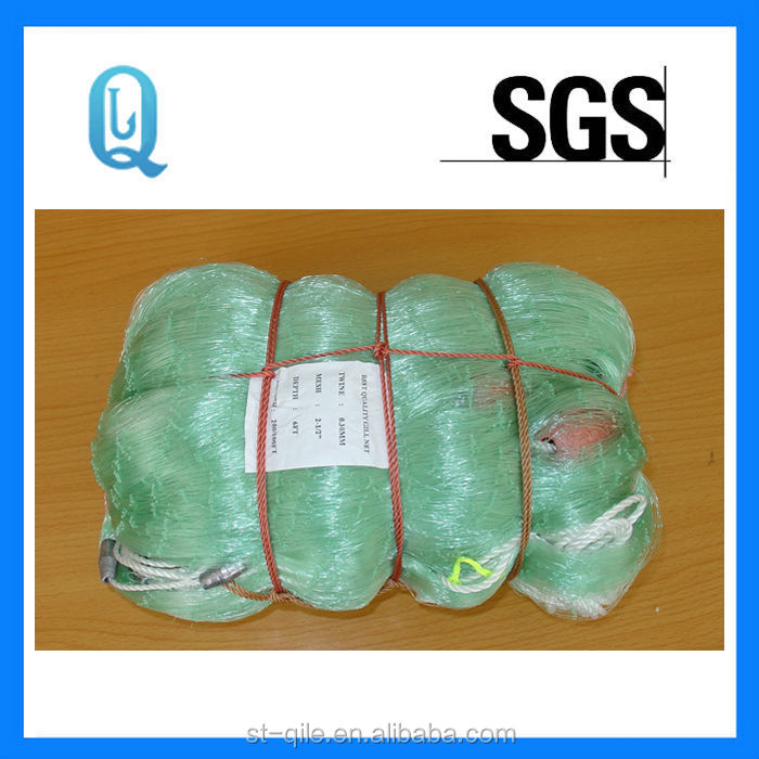 BASF materials nylon sardine fishing net, knitted fishing net, finland fishing net