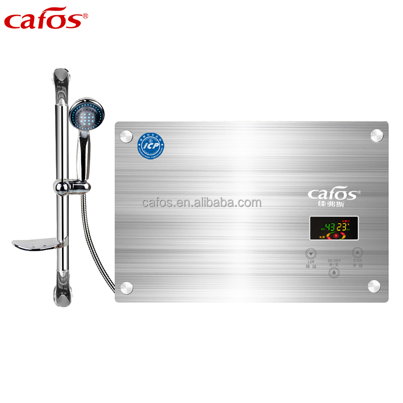 Cafos New Model Silver Color Electric Horizontal Water Heater