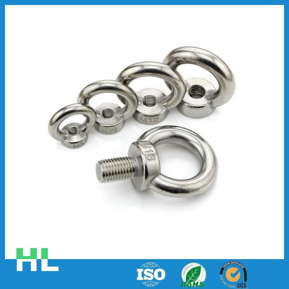 China manufacturer high quality titanium bolt,galvanized m4 eye bolts