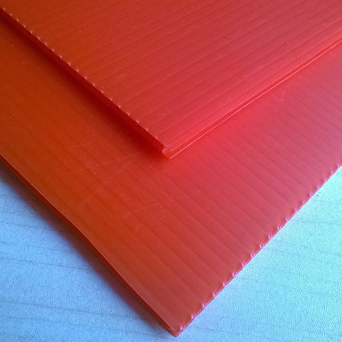 corrugated plastic board / pp corriboard boards