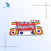 Plastic shopping card, barcode gift shopping card