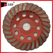 "5"" Diamond cup wheel for resurfacing on concrete, masonry and stone faces"