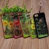 New design wholesale fancy Quicksand Flower hard PC mobile phone case for Apple iphone compatible