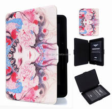 For Amazon Kindle Paperwhite PU Leather Tablet Cases Cover For Kindle 558 Voyage color Patterns Oem Cover