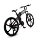 "20"" Fat Electric Titanium Mountain Folding Rechargeable Motor Complete Bike"