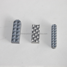 Tungsten carbide teeth gripper insert for Chuck Jaw in drilling