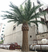 wholesale high quality fake foxtail palm tree trunks table decorations