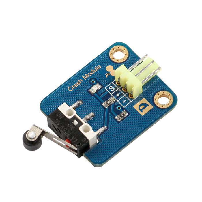 Electric Switch Crash Sensor for Arduino compatible