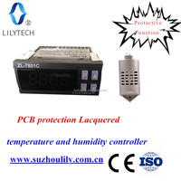 ZL-7801C,100-240VAC,temperature and humidity controller intelligent incubator controller,incubator,lilytech