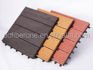 Durable Mix Color 3d Grooven WPC Composite Decking
