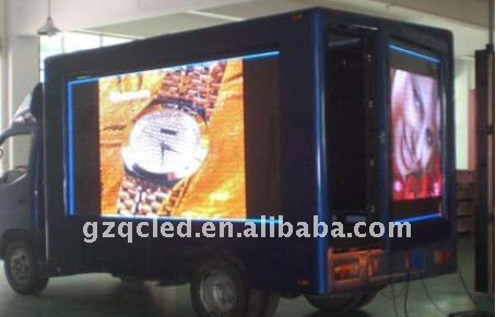 LED mobile truck advertising display screen