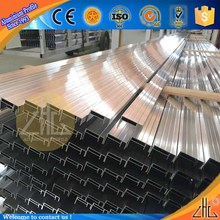 Hot! Quality list aluminium alloys 6063 aluminum manufacturer solar frame profile