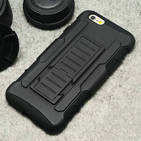 3 in 1 Plastic Hard Cell Phone Case for iPhone 6 / for iPhone 5 Belt Clip Case / for iPhone 5s iPhone 6 Mobile Bag&Case