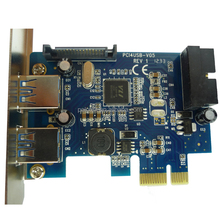 USB 3.0 Internal 19 Pin USB 3.0 PCI-e Controller Card VL800 Chipset pcie adapter converter connector