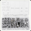 stainless steel 190pcs Wing Nut Screw set