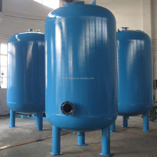 industrial carbon steel coated sand filter tank