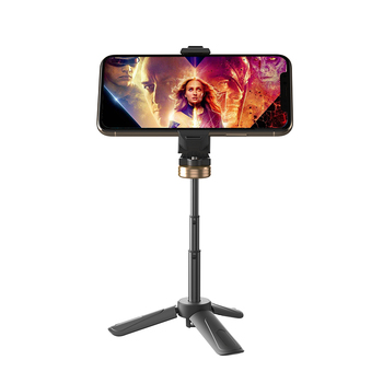 Premium Mini Tripod Phone Mount, extendable Table Top Stand for Smartphones, Compact Cameras ,RK-L13