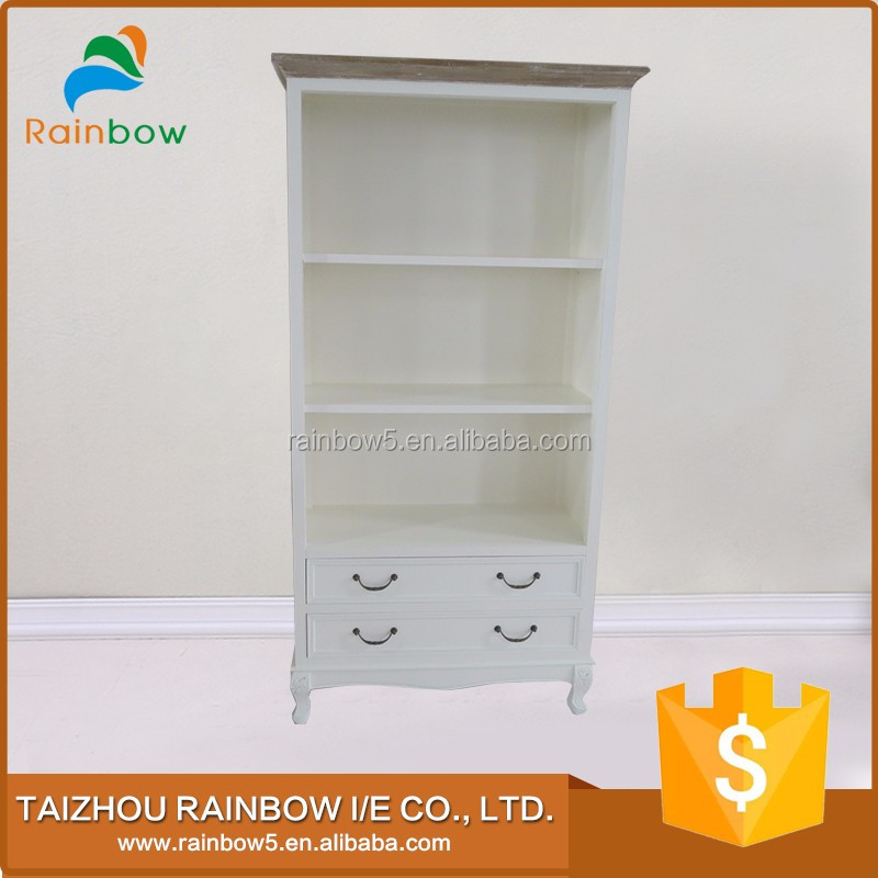 New style kitchen shelves wood cabinet with decorative chest of drawers