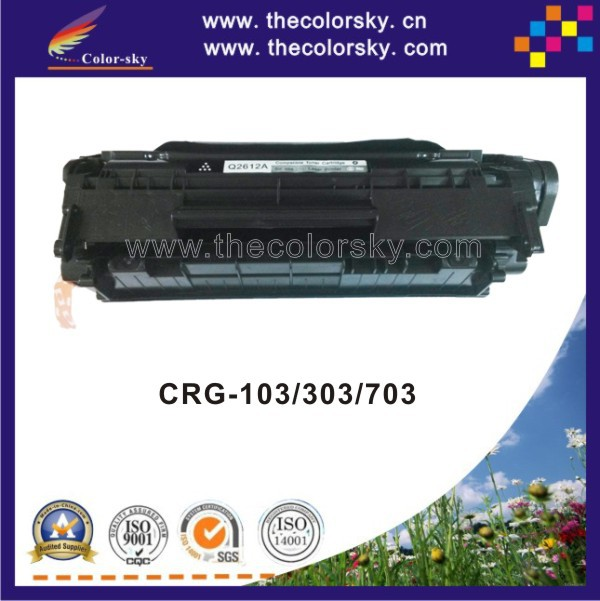 (CS-H2612A) BK compatible toner cartridge for Canon CRG-303 CRG-703 CRG-103 LBP-2900 LBP-3000 CRG 303 703 103 LBP 2900 3000 3020