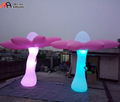 2017 Newest Inflatable Standing Flower with Night Light