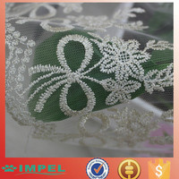 Chinese knot design gold lace gold thread wonderful big heavy lace fabric swiss voile lace