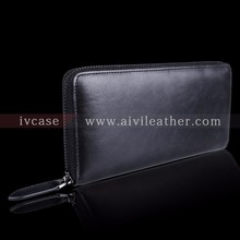 Elegant Cow Leather Wallet Clutch Bag