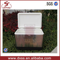 54L Metal Sheel Marine Beer Cooler Ice Storage in Handle