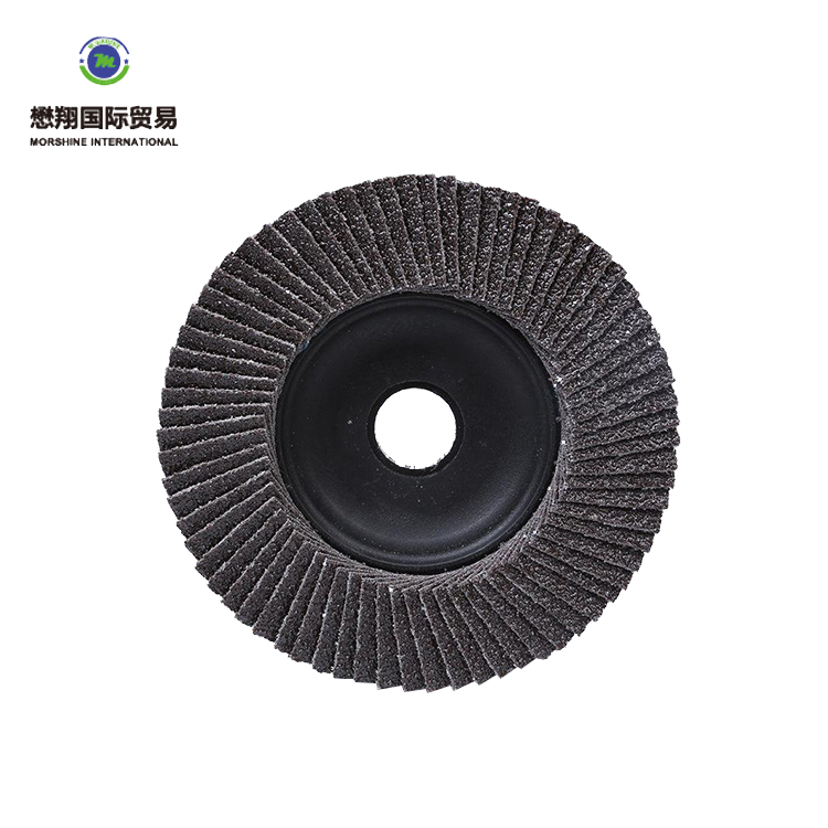 China factory wholesale cheap 6 inch polishing steel A GA AC abrasive disc flap wheel