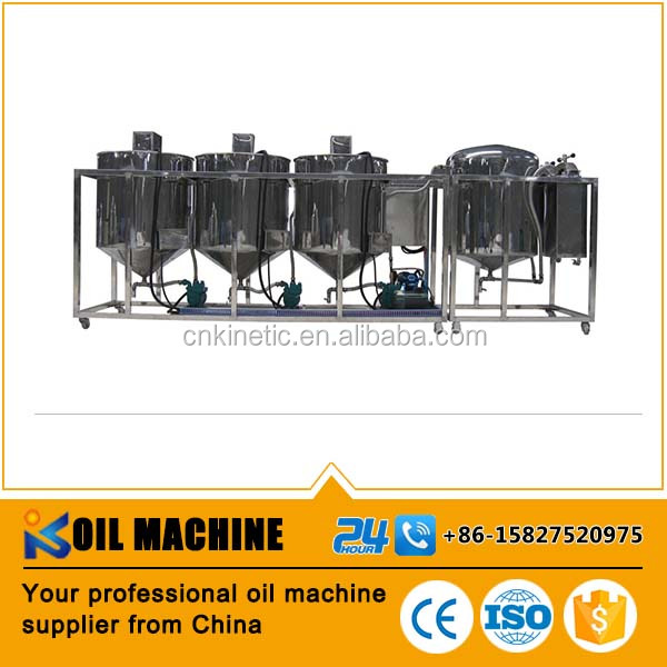 competitive price sunflower/peanut/soybean crude oil refinery machine , peanut oil refinery plant , oil refinery machine