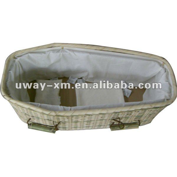 UW-PC-900 Practical bamboo pet coffin for funeral supply