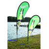 Wind Flag Banner Polyester Fabric Banner