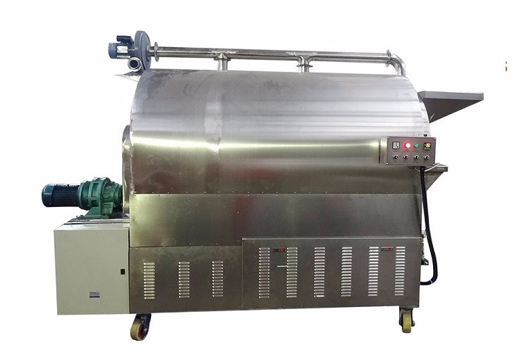 industrial 200kg automatic cashew nut roasting machine