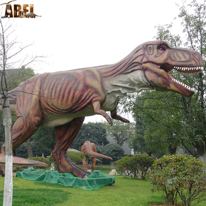 Science exhibition fiberglass dinosaur