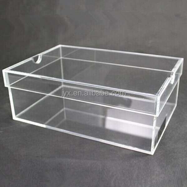 Custom Made Perspex Shoe Box/ Shoe Box Display
