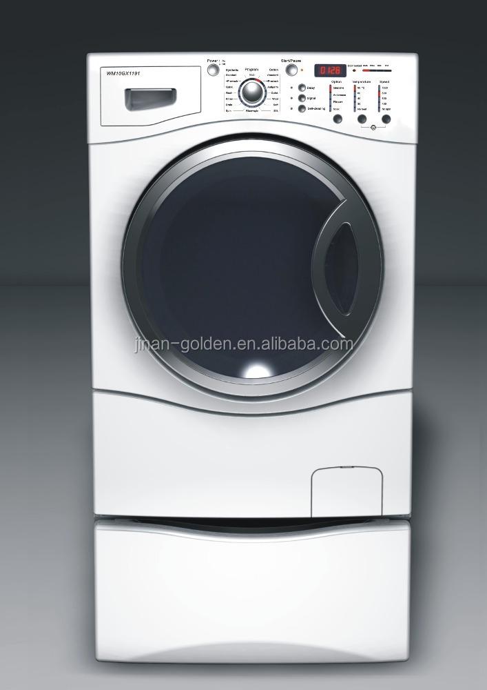 front loading washing machine capacity