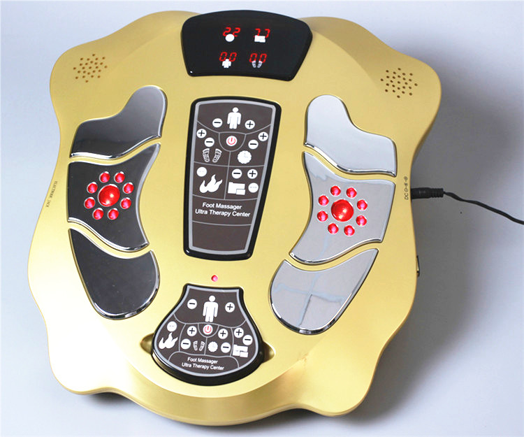 infrared heating foot massager with 25 massage programs low-frequency wave pulse for blood circulation