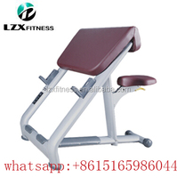 flex body crossfit gym equipment/preacher curl fitness machines