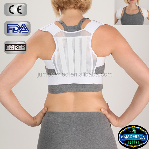 Samderson bestselling breathable mesh back straightening clavicle brace/posture correction/support