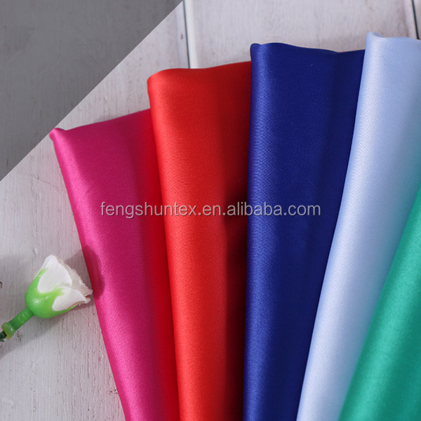 Twisted shinny stretch satin fabric/spandex satin fabric/elastic satin fabric